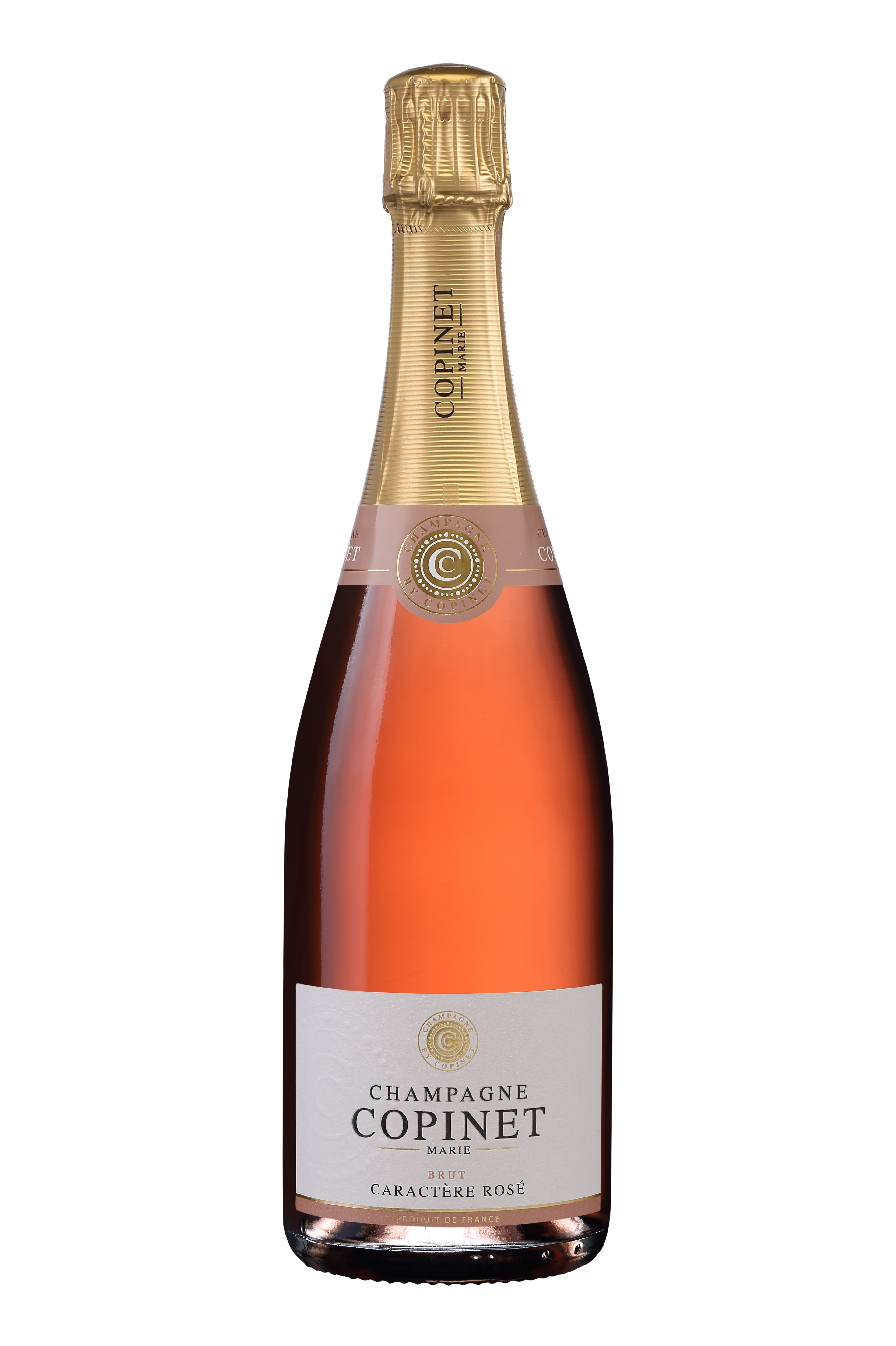 CHAMPAGNE MARIE COPINET CARACTERE ROSE 75cl