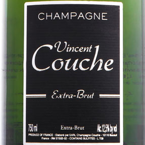 CHAMPAGNE VINCENT COUCHE,  EXTRA BRUT 75cl