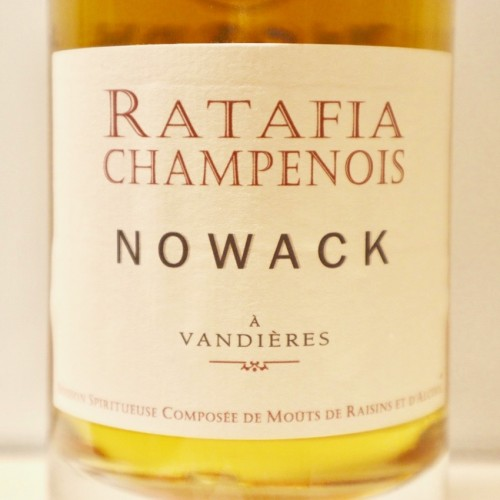 FLAVIEN NOWACK, RATAFIA DE CHAMPAGNE