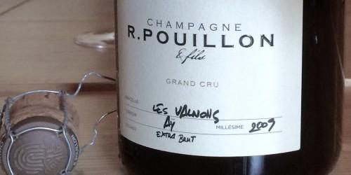 """CHAMPAGNE R. POUILLON """"LES VALNONS"""" 2009 PARCELLE AŸ GRAND CRU"""
