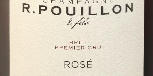 CHAMPAGNE R. POUILLON, ROSE  PINOT NOIR